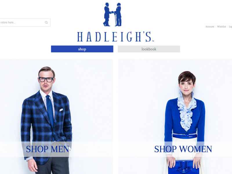 Hadleigh's Adds an Online Store to Their Growing Clothing Business