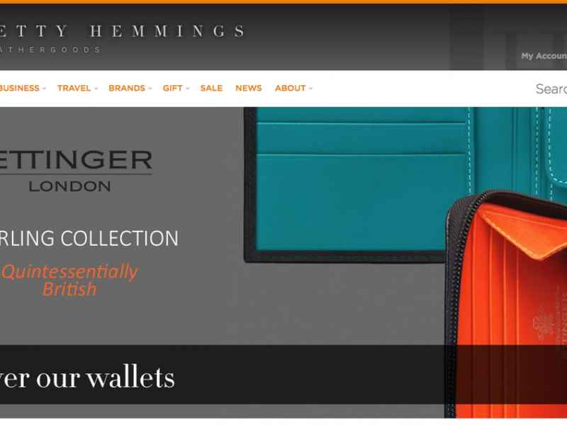 Finding Luxury Online at Betty Hemmings Leathergoods