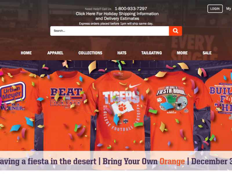 Tiger Sports Shop's Online Store Roars to Life