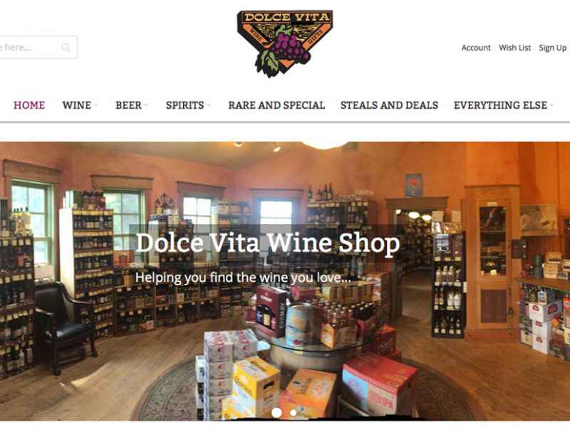 A Toast to Dolce Vita Wine Shop's New Online Store