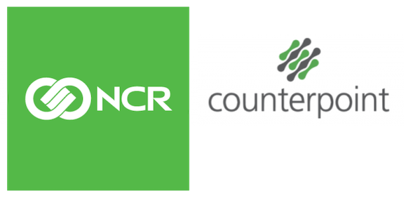 NCR counterpoint POS Logo