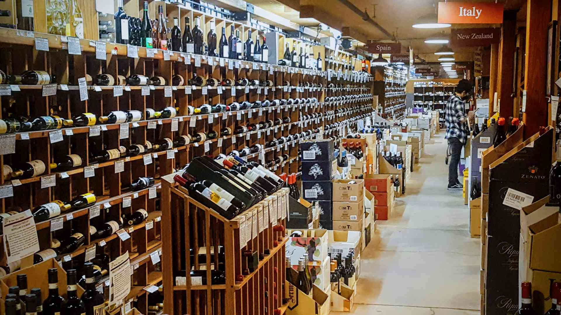 Hi-Time Wine Cellars California, French& Italian Wine Selection