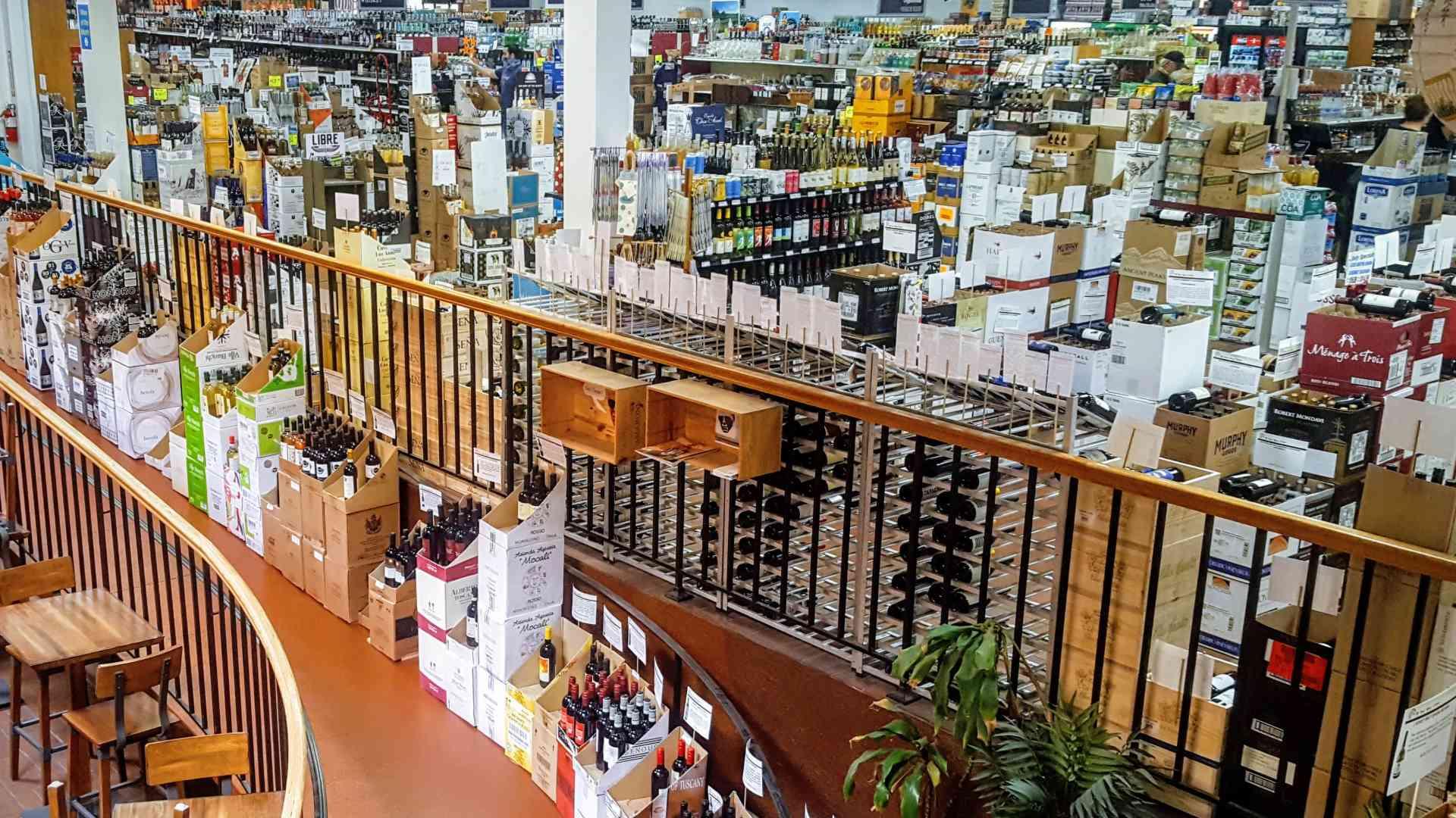 Hi-Time Wine Cellars Retail Store