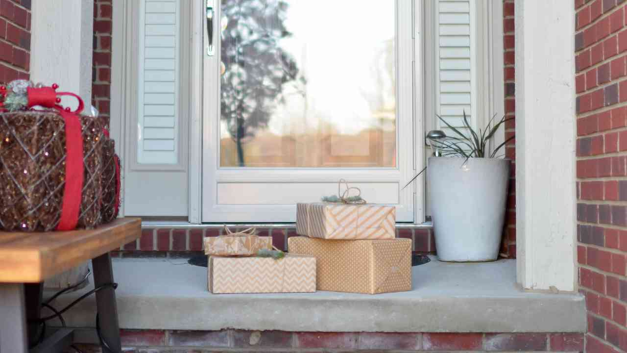Packages Porch Holiday Shipping Delays